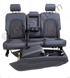 Orgineel Audi Q7 SPORT LEER /ALCANTARA MY sets interieur COMPLEET model 2011